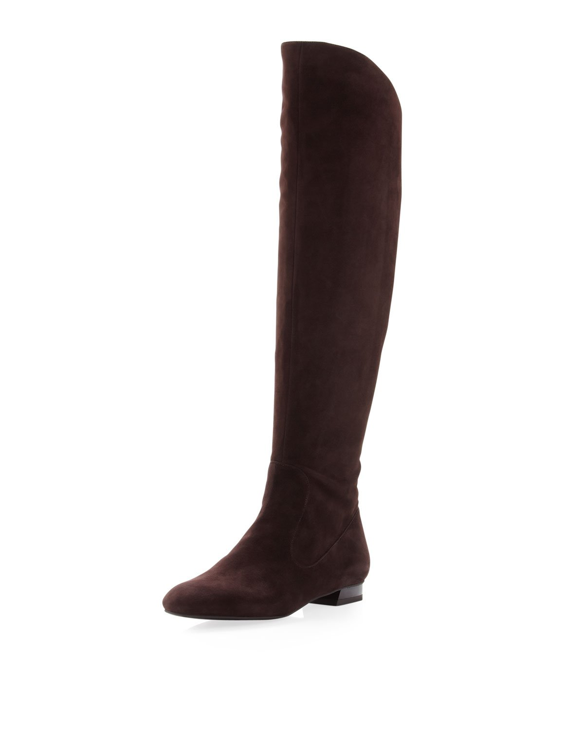 via spiga kailey suede boot in brown tmoro lyst