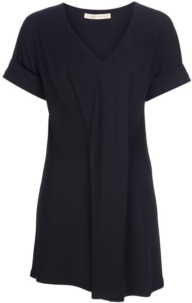 Balenciaga Pleat Dress in Black - Lyst