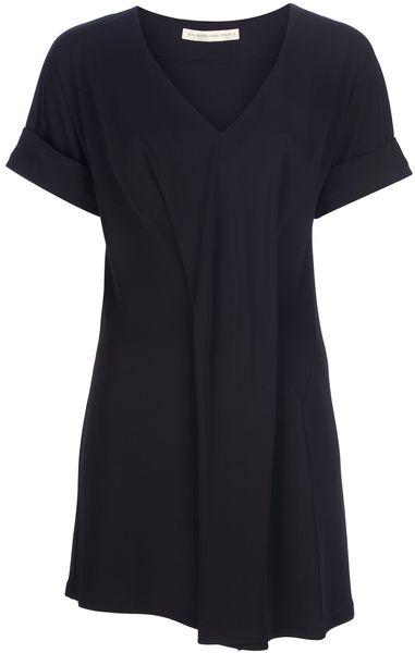Balenciaga Pleat Dress in Black