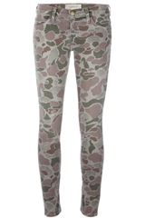 Current/Elliott Camouflage Trouser - Lyst