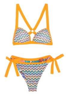Missoni Zz with Dots Triangle Padded Bikini - Lyst