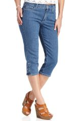 Not Your Daughter's Jeans Skinny Cecilia Cropped Capris Medium Wash - Lyst