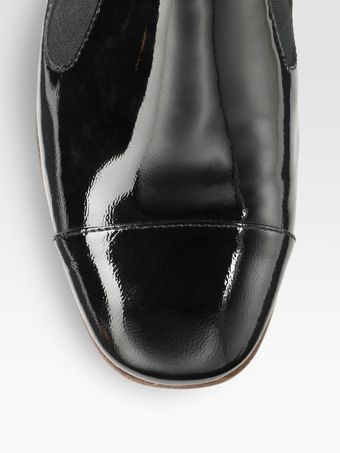 Elizabeth And James Cort Patent Leather Loafers - Lyst
