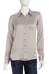 Equipment Brett Silk Blouse - Lyst