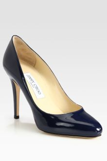 Jimmy Choo Vikki Patent Leather Pumps - Lyst