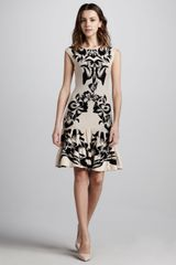 McQ by Alexander McQueen Floral Intarsia knit Dress - Lyst