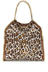 Stella McCartney Falabella Large Animal Print Tote - Lyst