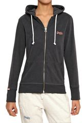 Superdry Hooded Light Cotton Fleece Sweatshirt - Lyst