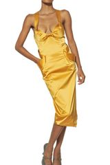Vivienne Westwood Techno Satin Dress - Lyst