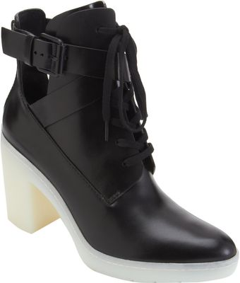 Alexander Wang Lace Up Boots - Lyst