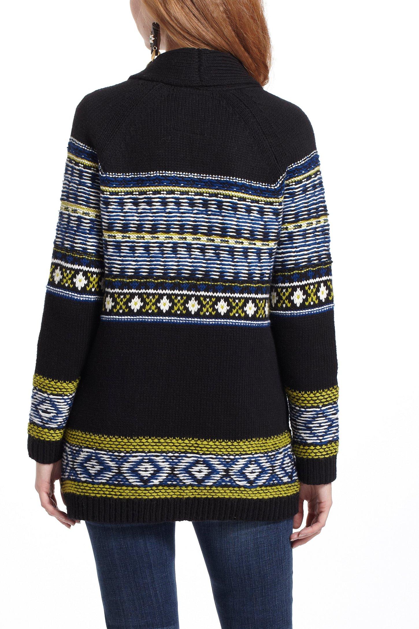 Anthropologie Batley Fairisle Sweatercoat   Lyst