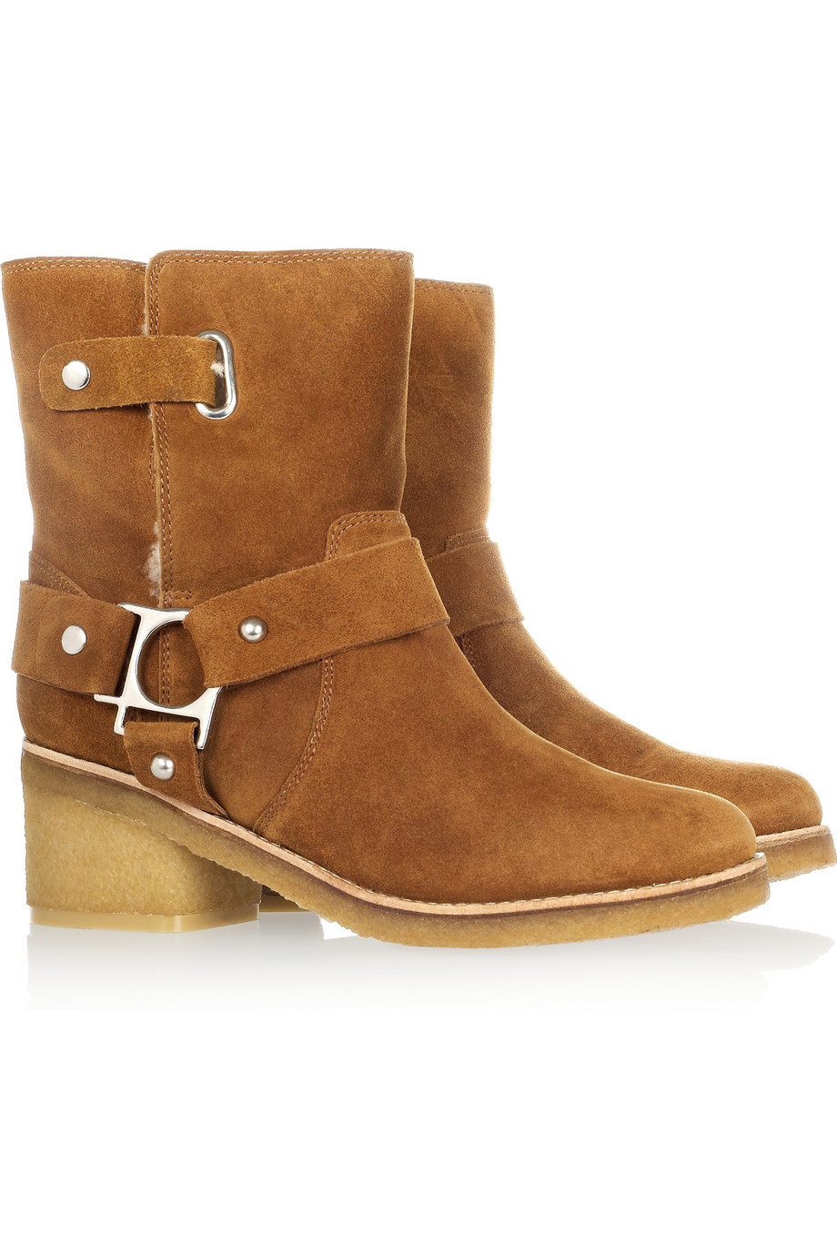 Belle by Sigerson Morrison 50MM SUEDE ANKLE BOOTS f0Quy