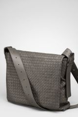 Bottega Veneta Cross Body Messenger - Lyst