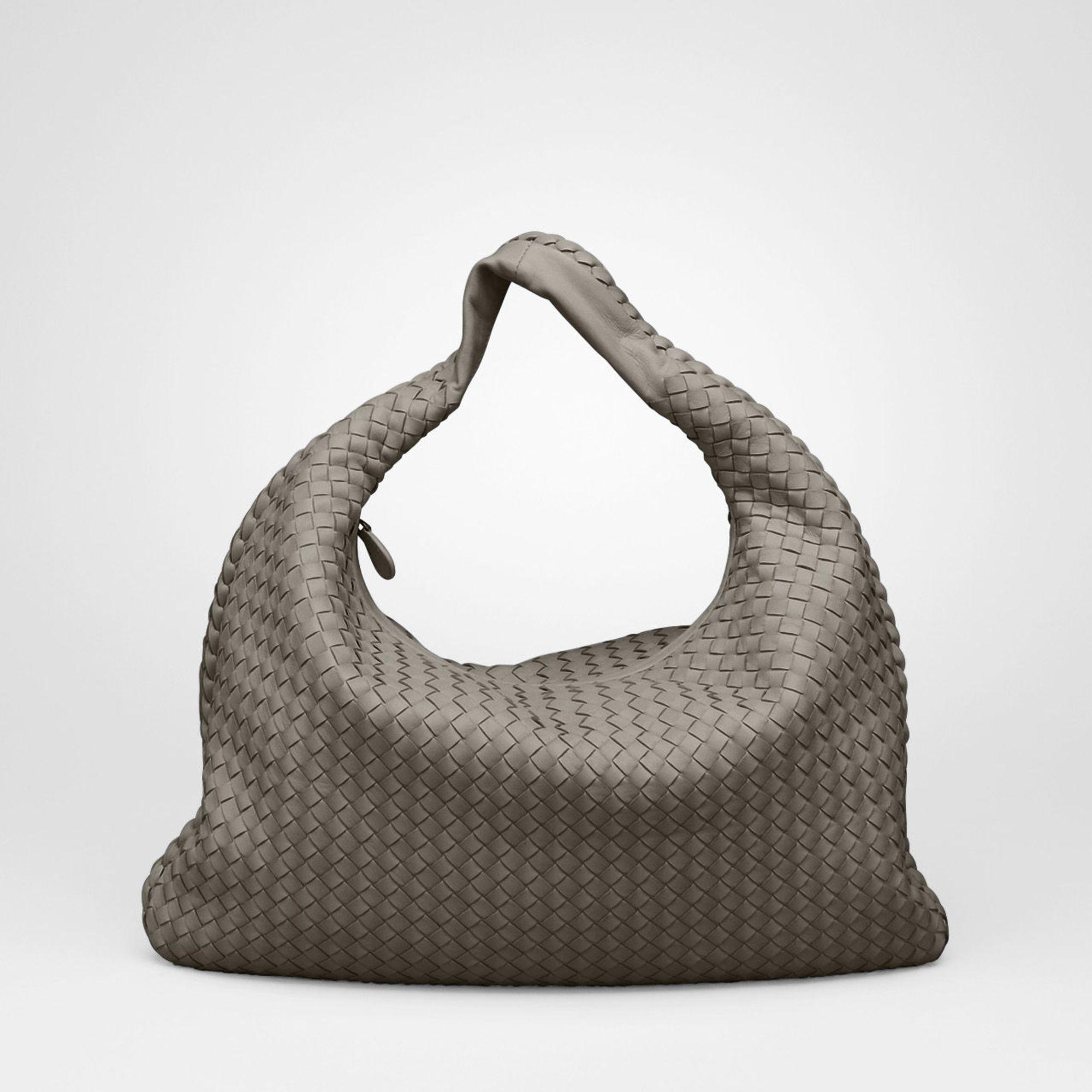 replica prada handbags uk - Bottega veneta Junior Intrecciato Nappa Large Veneta in Gray ...