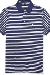 Etro Striped Cottonpiquã Polo Shirt - Lyst