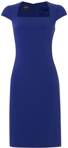 Hobbs Roux Dress in Blue (sea) - Lyst