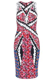 Peter Pilotto Peplum Dress - Lyst