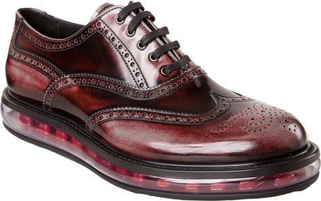 Ermenegildo Zegna Wingtip Balmoral Mens Shoes