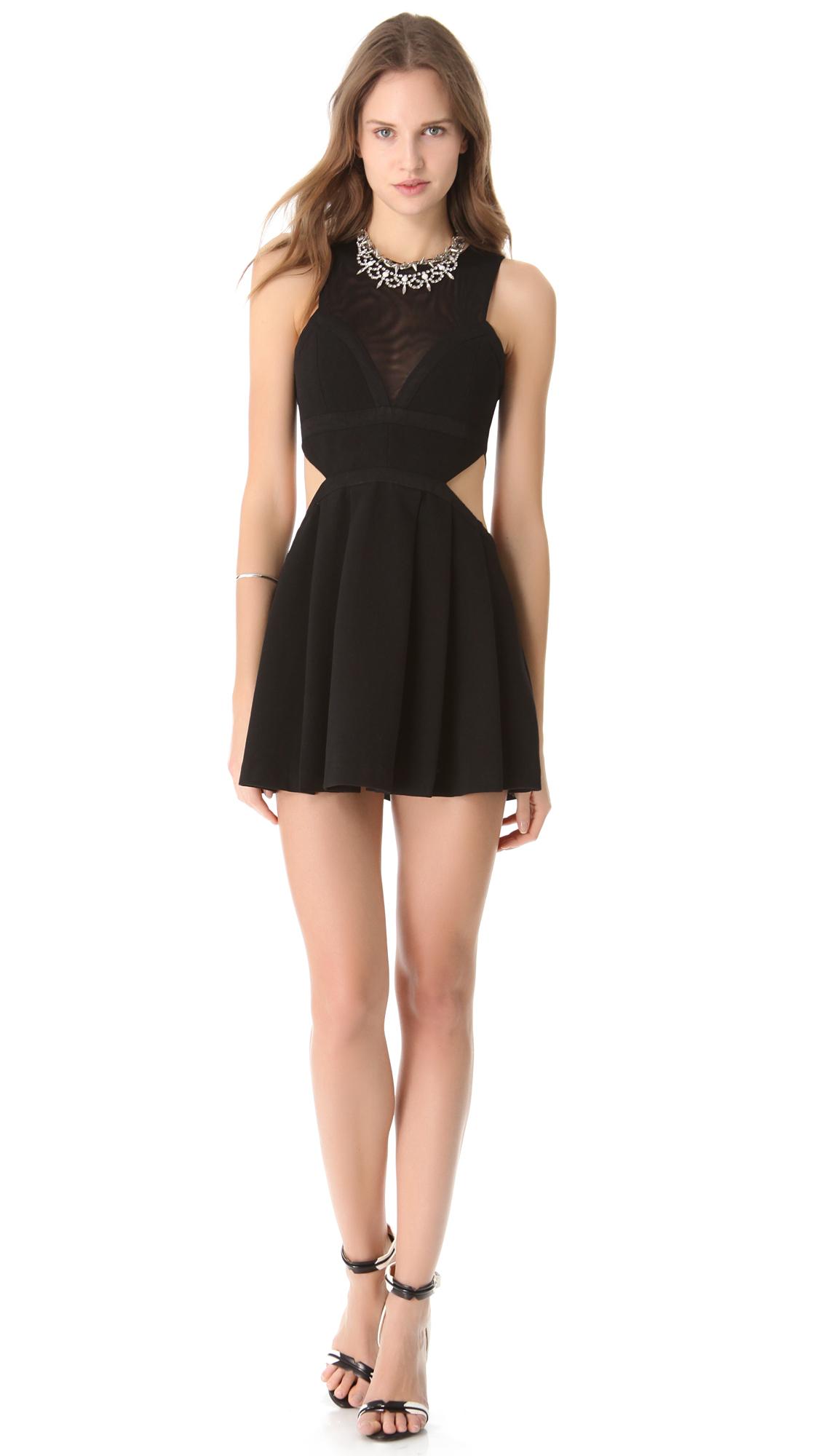 Lyst Three Floor Adolescent Sister Dress In Black