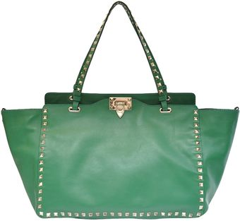 Valentino Studded Bag - Lyst