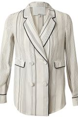 3.1 Phillip Lim Geometric Printed Silk Jacket - Lyst