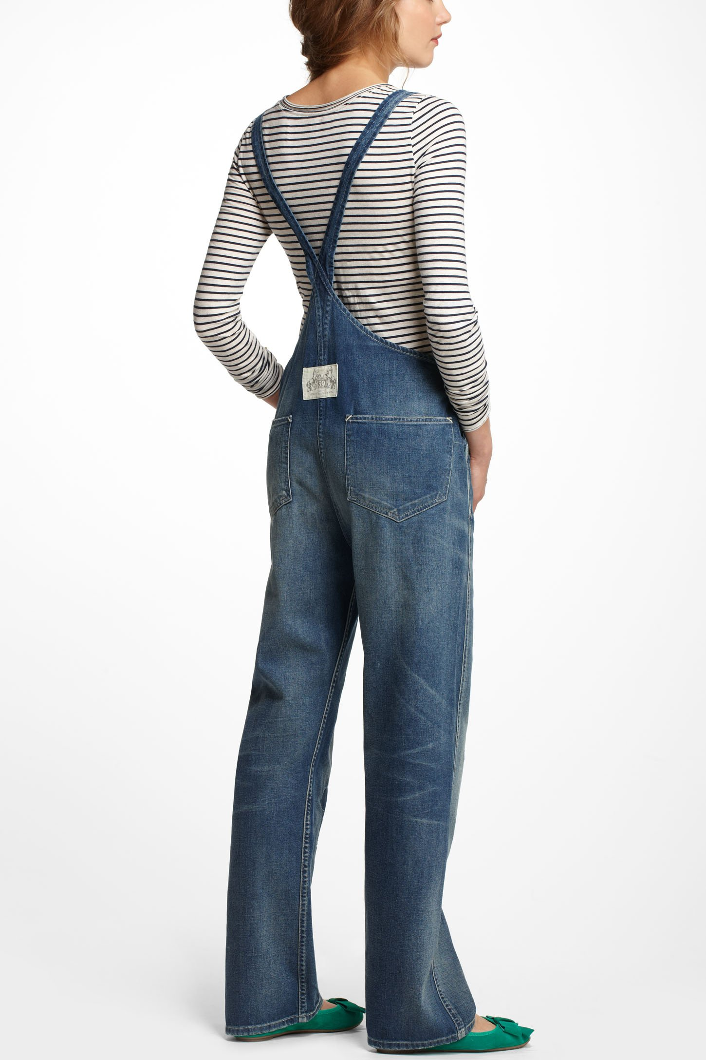 Overalls Are Making A Comeback As The Latest Fashion Trend: Anthropologie Levis Vintage Clothing Bib Amp Brace