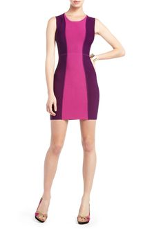 BCBGMAXAZRIA Aliza Colorblocked Dress - Lyst