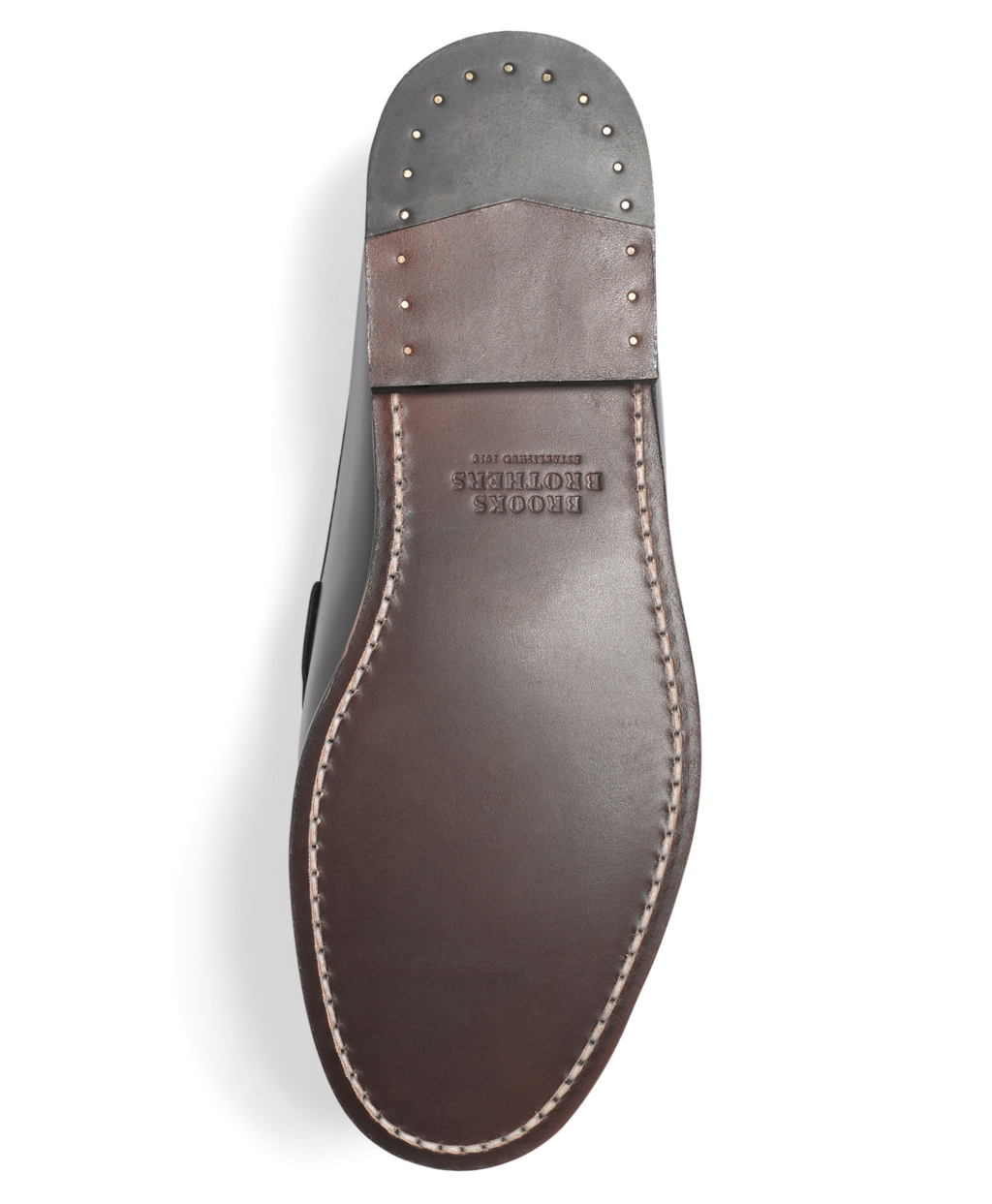 Lyst - Brooks Brothers Classic Penny Loafers in Black for Men