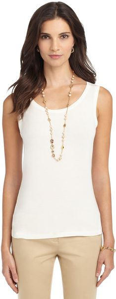 Brooks Brothers Knit Layering Tank - Lyst