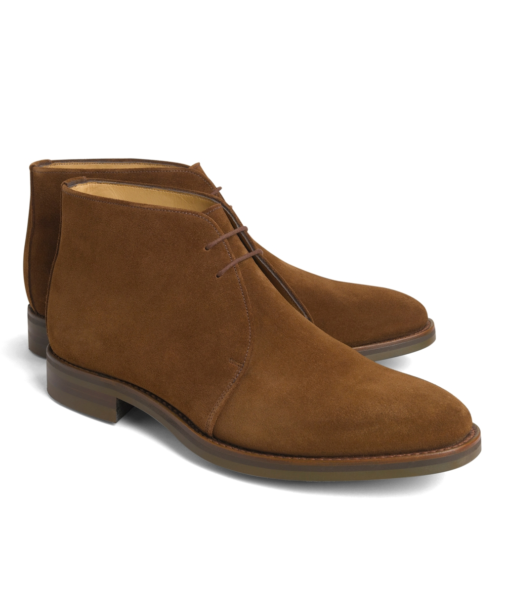 9ee4e18a14b Lyst - Brooks Brothers Peal   Co.® Chukka Boots in Brown for Men
