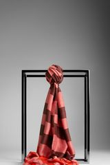 Burberry Striped Modal Silk Blend Scarf - Lyst