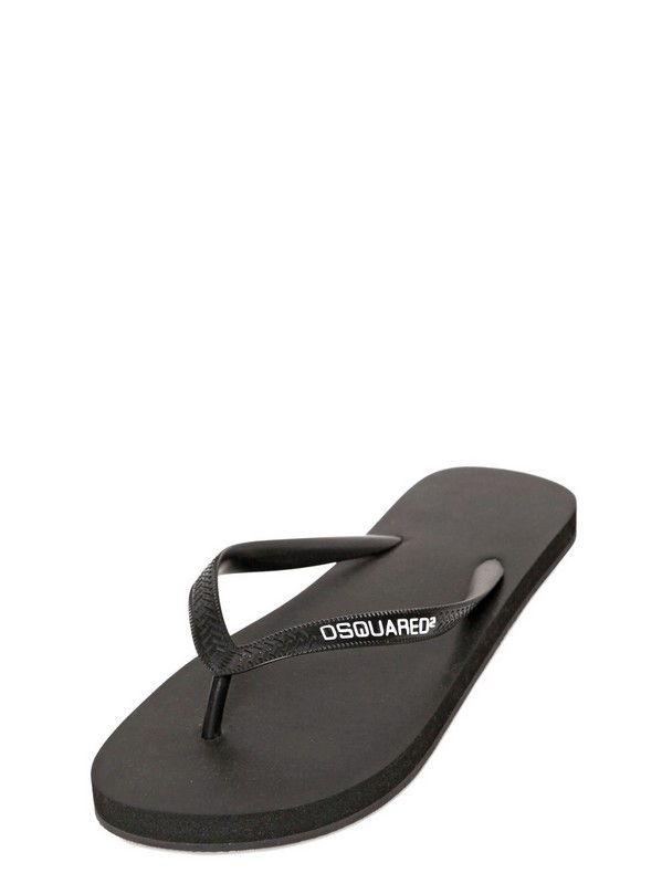 online for sale Dsquared2 logo flip flops recommend buy cheap lowest price shop sale online ovCf3