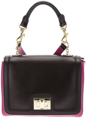 Emilio Pucci Calf Leather Shoulder Bag - Lyst