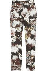 Emma Cook Printed Straight-Leg Pants - Lyst