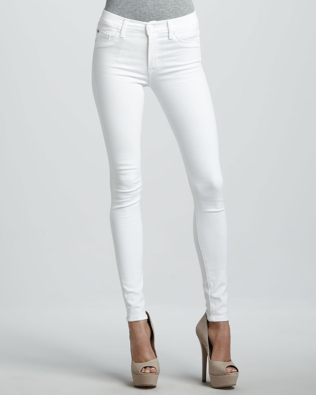 Juniors White Skinny Jeans | Bbg Clothing