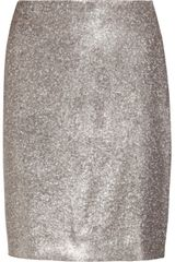 Jil Sander Sequined Silk Mini Skirt - Lyst