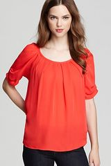 Joie Top Eleanor Matte Silk - Lyst