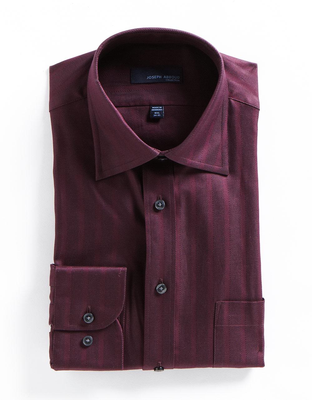 Joseph abboud textured striped cotton dress shirt in for for Joseph abboud dress shirt