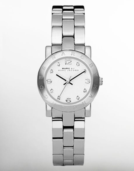marc by marc jacobs womens mini amy stainless steel