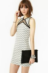 Nasty Gal Jagged Alliance Dress - Lyst