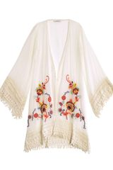 Ondademar Bursa Embroidered Kaftan - Lyst