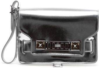 Proenza Schouler Ps11 Mini Metallic Hologram Leather Bag - Lyst
