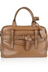 Reed Krakoff Fighter Leather Bowling Bag - Lyst