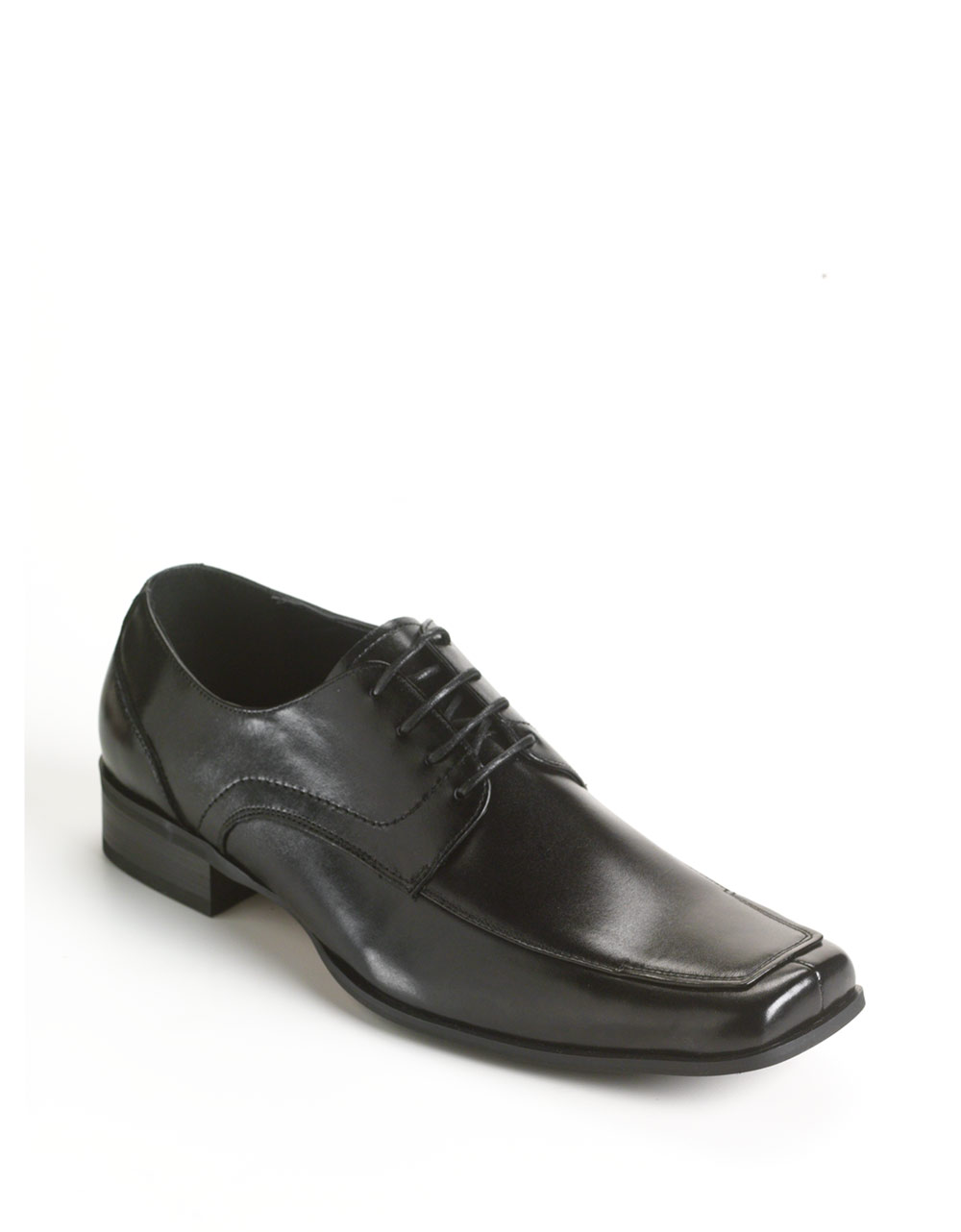 steve madden evollve leather shoes in black for lyst