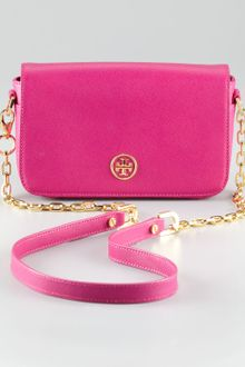 Tory Burch Robinson Mini Bag - Lyst