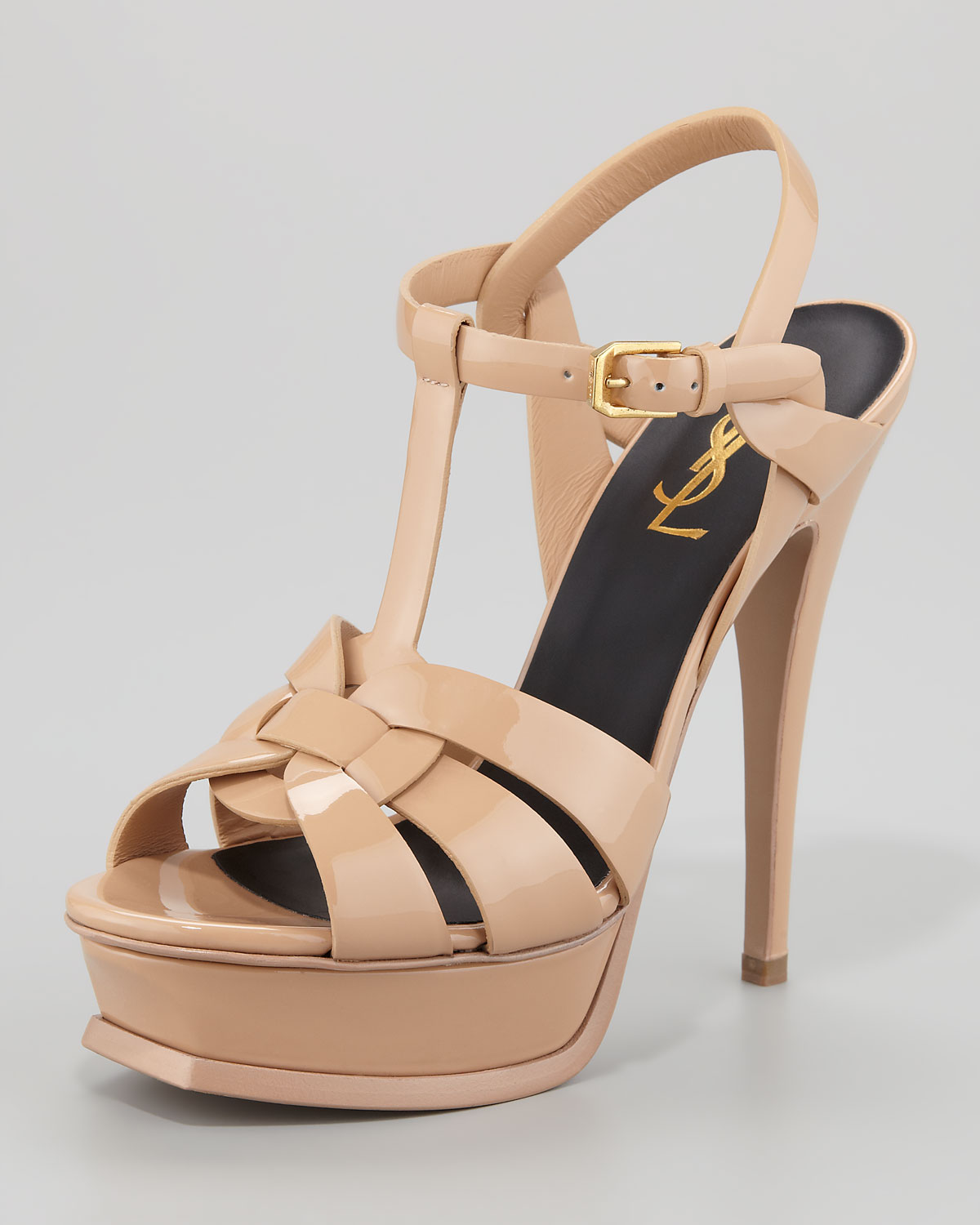 655db5749152f Gallery. Previously sold at  Neiman Marcus · Women s Saint Laurent Tribute  Women s Heeled ...