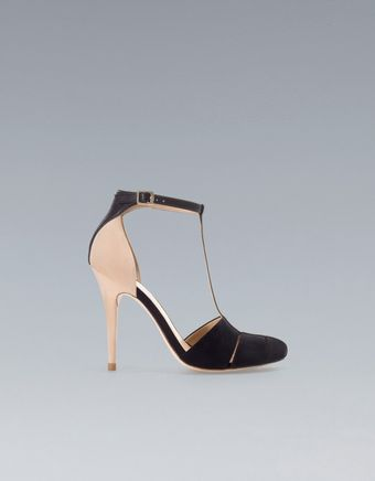 Zara High Heel Jelly Shoe - Lyst