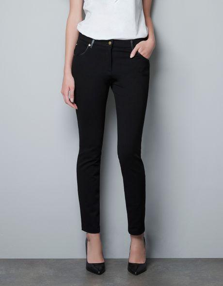 Luxury Pants Feet Leather Pants Design Women Dress Pantalon Femmein Pants
