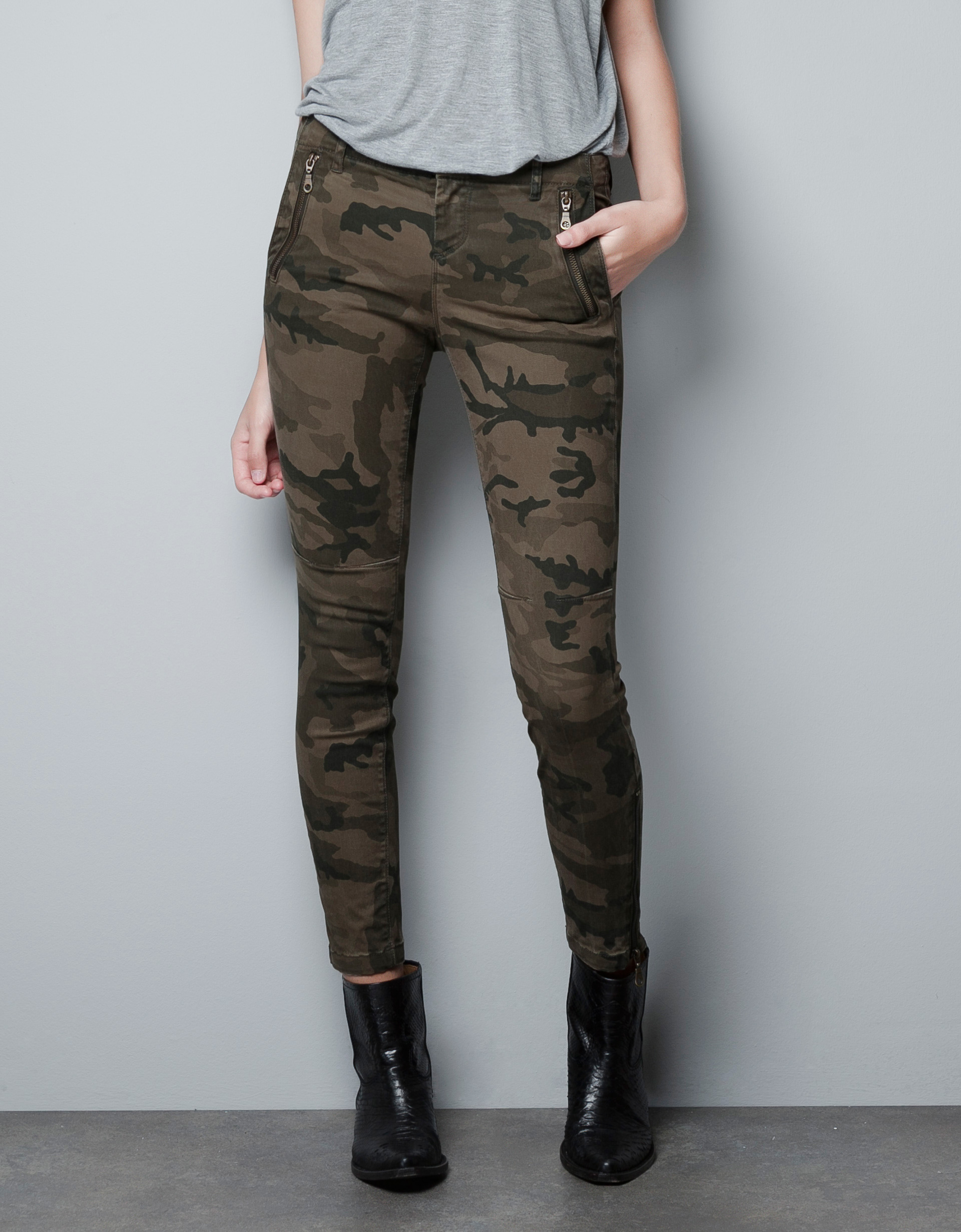 Excellent I Recently Got These Camo Pants From Zara And I Had No Idea I Was Going To Wear Them This Much Im Not Kidding Either I Have Worn Them At Least 3 Times In The Past Two Weeks! I Know When Most People Think Of Camouflage They Think Of The