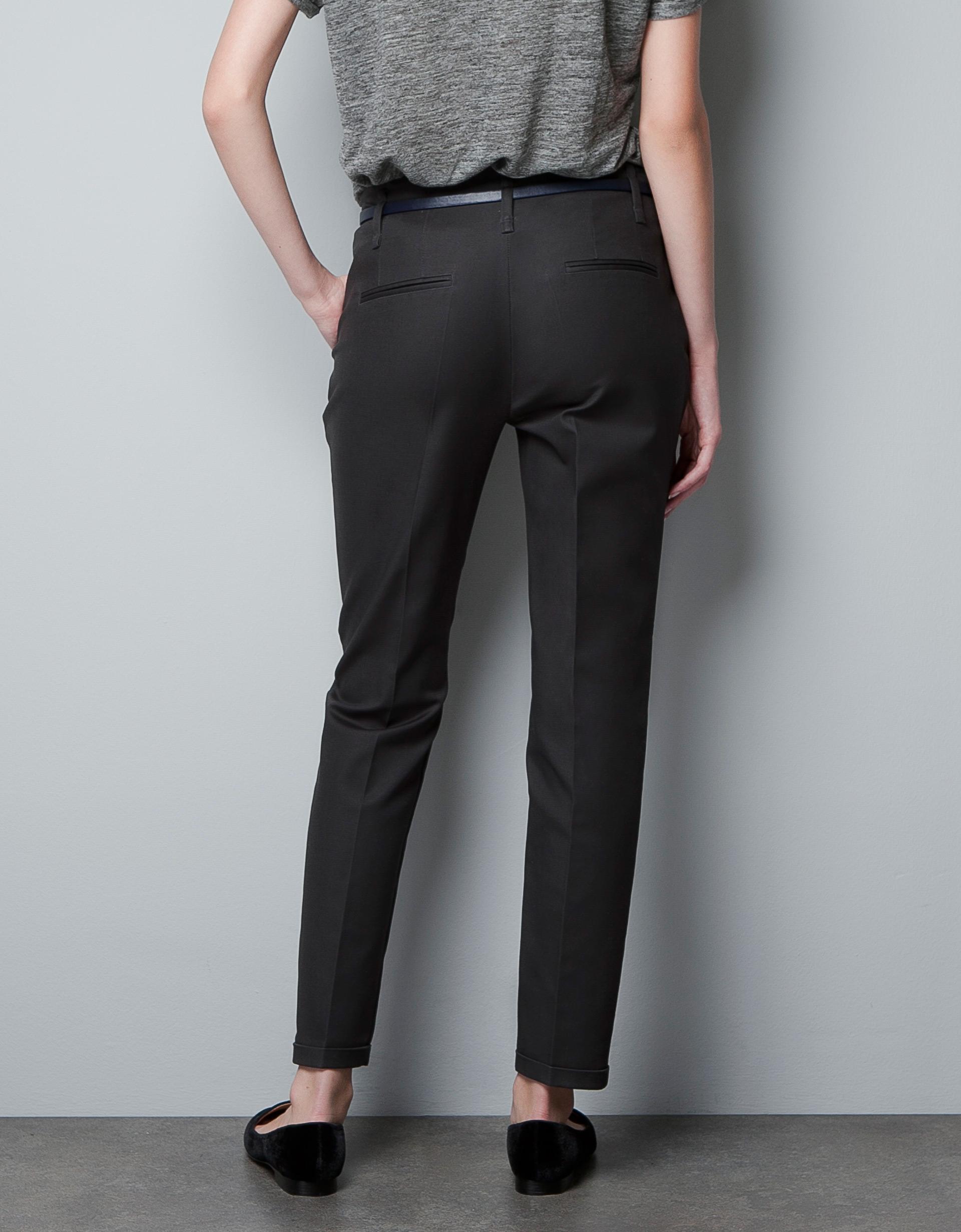 Excellent Zara Jogging Pants In Black  Lyst